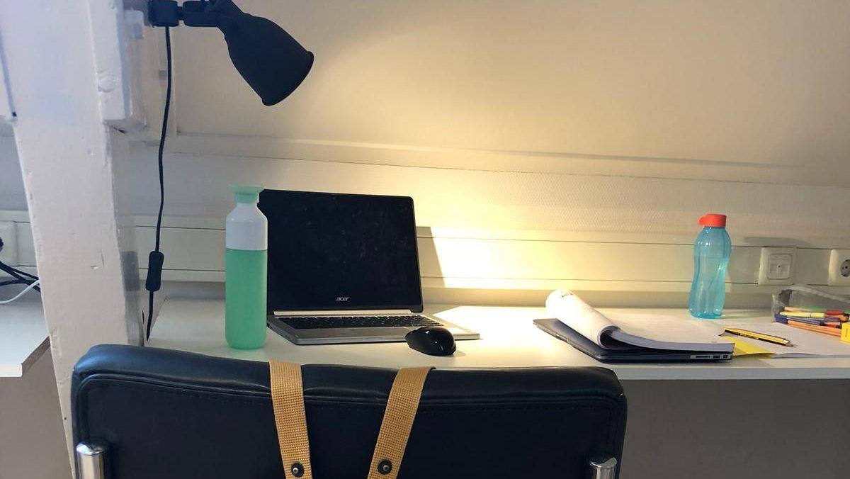 Een goede werkplek helpt bij geconcentreerd studeren